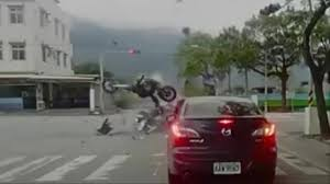 Challenge Fail Liveleak Liveleak Bad Motorcycle At Intersection