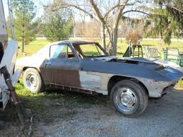 project corvettes for sale this c2 corvette coupe is claimed by the seller to be a genuine