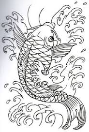 tatatatta collection japanese koi fish designs