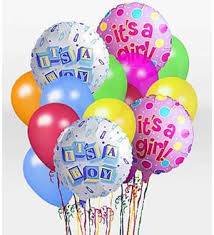 balloon delivery bronx ny sutton florist it s a girl balloon bunch bronx ny 10462 ftd
