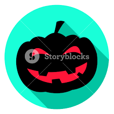 pumpkin icon meaning trick or treat and squash