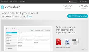 10 free online tools to create professional resumes hongkiat