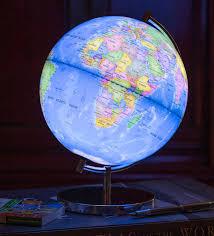 Light Up Globe Of The World By Globee Notonthehighstreet Com