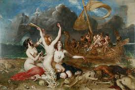 Tiresias The Blind Prophet The Odyssey Book Ix Nekuia Odysseus Speaks To Ghosts