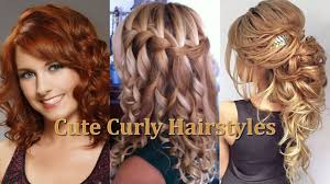 cute curly hairstyles u2013 latest hairstyle in 2017
