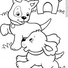 free printable colouring pages puppies dog coloring cute puppy