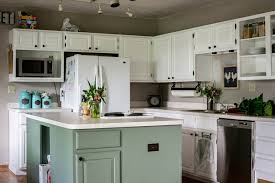 why is everyone painting their kitchen cabinets white one year later repainted white kitchen cabinets