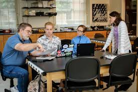 writing papers in biological sciences automated feedback the new science of grading stem papers image wake forest biology professors dan johnson and sabrina setaro talk with graduate students noah bressman and jenny howard about new methods for