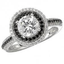 black and white engagement rings for engagement rings st louis michael herr diamonds