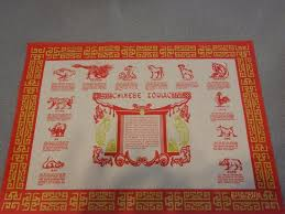 zodiac placemat zodiac placemat find your sign picture of new china restaurant