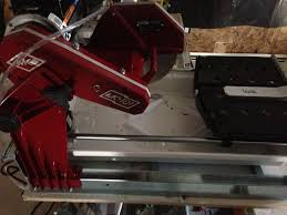 Rigid 7 Tile Saw Stand by Wet Tile Saw Recommendations Pro Construction Forum Be The Pro