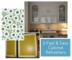 Diy Kitchen Cabinet Doors How To 5 Fast And Inexpensive Ways To Refresh Your Kitchen