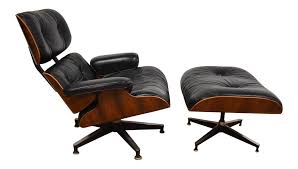 original eames rosewood lounge chair and ottoman chairish
