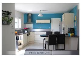 cuisine mur bleu awesome cuisine wenge et blanc images design trends 2017