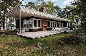 Modern Small Home Mid Century Modern Home In Sweden Small House Bliss