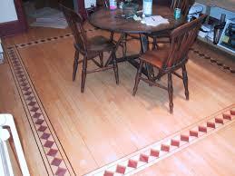custom wood border hardwood flooring floor company