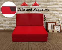 Portable Sofa Cum Bed by By Homebliss Single Sofa Cum Bed Red Sofa And Bed In One This