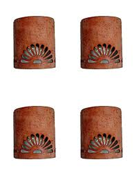 Ceramic Wall Sconce Sconce Clay Wall Sconces Outdoor Clay Wall Sconces Mexican Clay