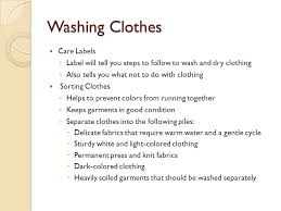 Caring For Clothing Ppt Video Online Download