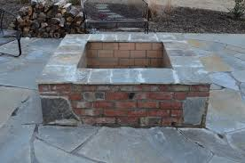 Brick Firepit How To Build A Pit Cheap Menards Wood Burning Home Depot Diy