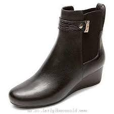 s wedge boots canada boots s rockport total motion wedge chelsea 80mm black