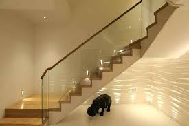 indoor stair lighting ideas stair lights interior glass stair lights interior led stair lights