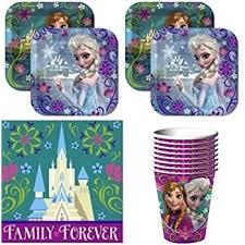 frozen party supplies disneys frozen birthday party supplies value pack
