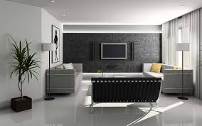 decorating with black color palette and schemes for rooms in