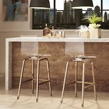 furniture clear acrylic bar stools with back also brass leg and