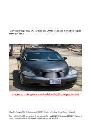 28 2002 pt cruiser repair manual 84250 2002 chrysler pt