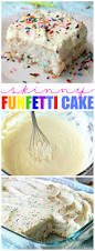 skinny funfetti cake belle of the kitchen