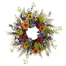 24 inch garden and twig wreath free shipping today