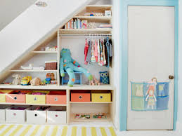 Small Space Stairs - cabinet storage space under stairs