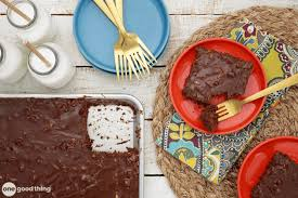 how to make my all time favorite chocolate sheet cake one good