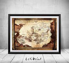 Harry Potter World Map by The Wizarding World Of Harry Potter Map Harry Potter Print