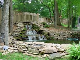 Rock Water Features For The Garden by Stylish Ideas Water Features For Backyard In The Corner Picket
