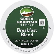 Blend K Cups Green Mountain Coffee 174 Breakfast Blend K Cup 48 Count Staples