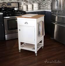 Mainstays Kitchen Island Kitchen Island Cart White