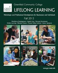 gcc fall 2013 lifelong learning guide by greenfield community