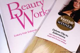 in hair extensions review my pale skin beauty works deluxe clip in hair extensions review