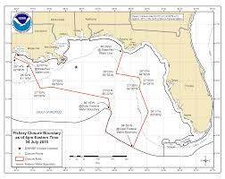 Map Of Gulf Of Mexico Deepwater Horizon Bp Oil Spill Closure Information Southeast