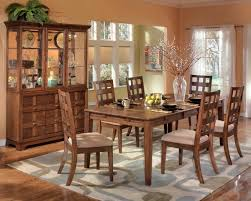 country style dining room rounded dining table set for 6 with fireplace mantel dining room