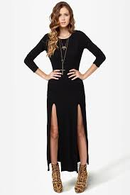 sexi maxi dress maxi dress black dress backless dress sleeve dress