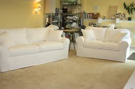 sure fit denim sofa slipcover white denim sofa loveseat from twill slipcover studio slipcovers