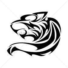 jaguar clipart jaguar tattoo vector image 1441374 stockunlimited