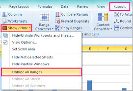 how to limit scroll area of a worksheet in excel