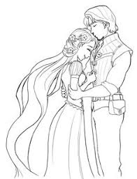 disney tangled coloring pages printable tangled wedding coloring