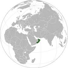 Iran On World Map Location Of The Oman In The World Map
