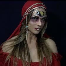Fortune Teller Halloween Costume Moon Goddess Gypsy Fortune Teller Pirate Wench Halloween