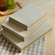 linen photo album 3 sizes hardcover linen handmade album thick paste type
